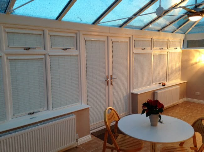 Blinds made in Bristol by the Conservatory and Window Company Ltd