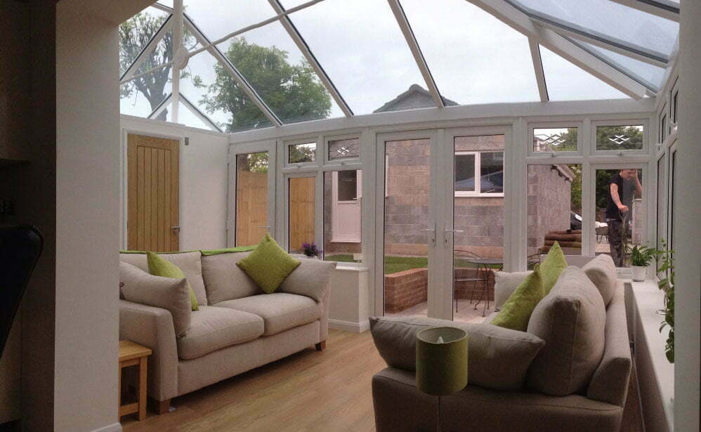 Modern Conservatory in Bristol by the Conservatory and Window Company Ltd