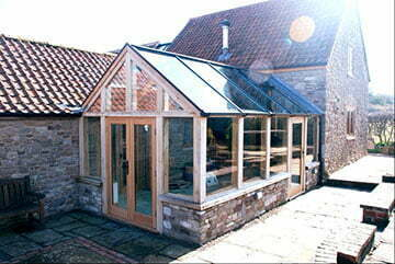 Orangery in Bristol built by the Conservatory and Window Company