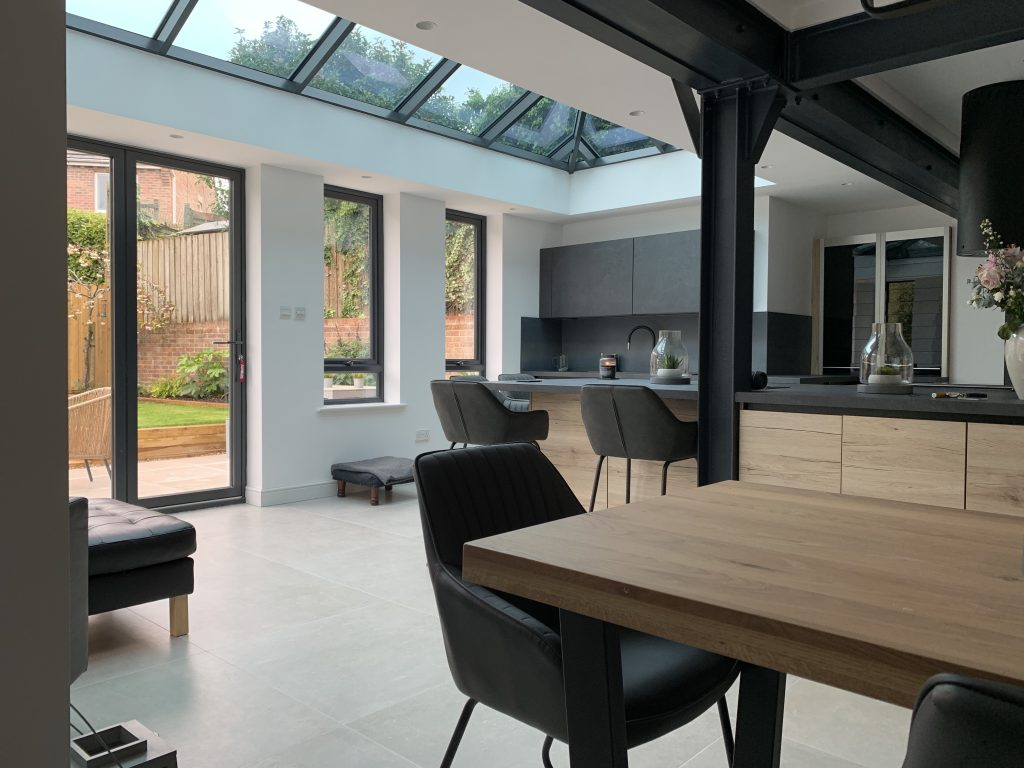 Beautiful bespoke Orangery Bristol, bring the outside in with open plan living