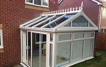 Replacement glazed conservatory roof, Bristol