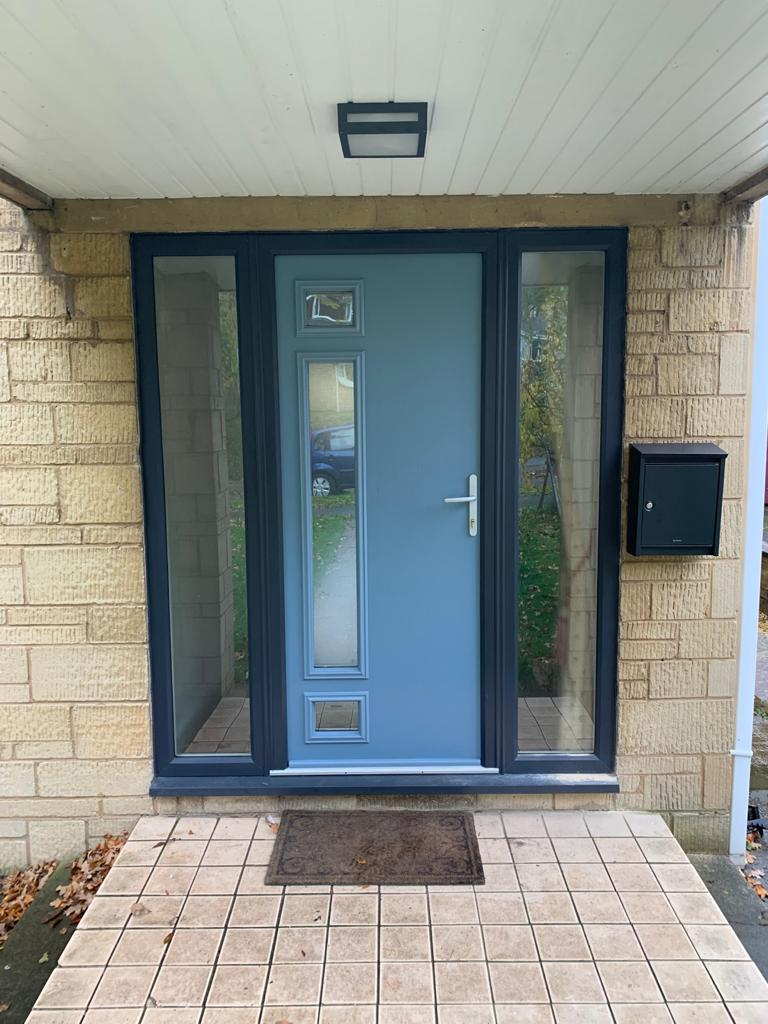 Composite and PVC door by the conservatory and window company