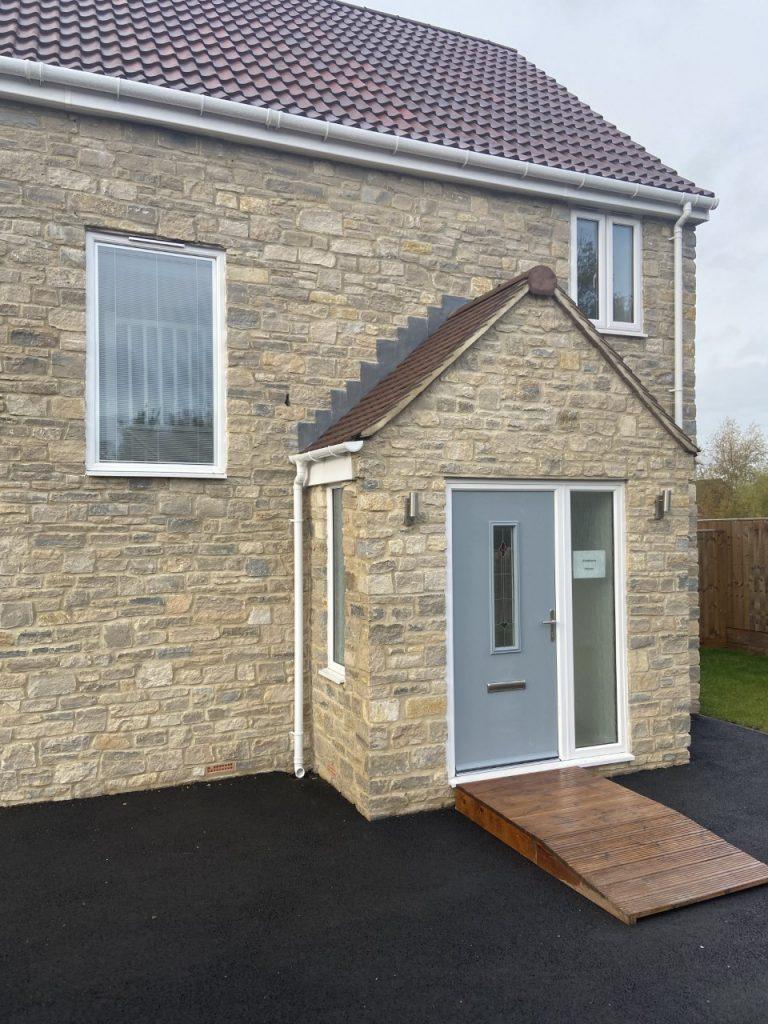Composite and PVC door, door replacement, Bristol